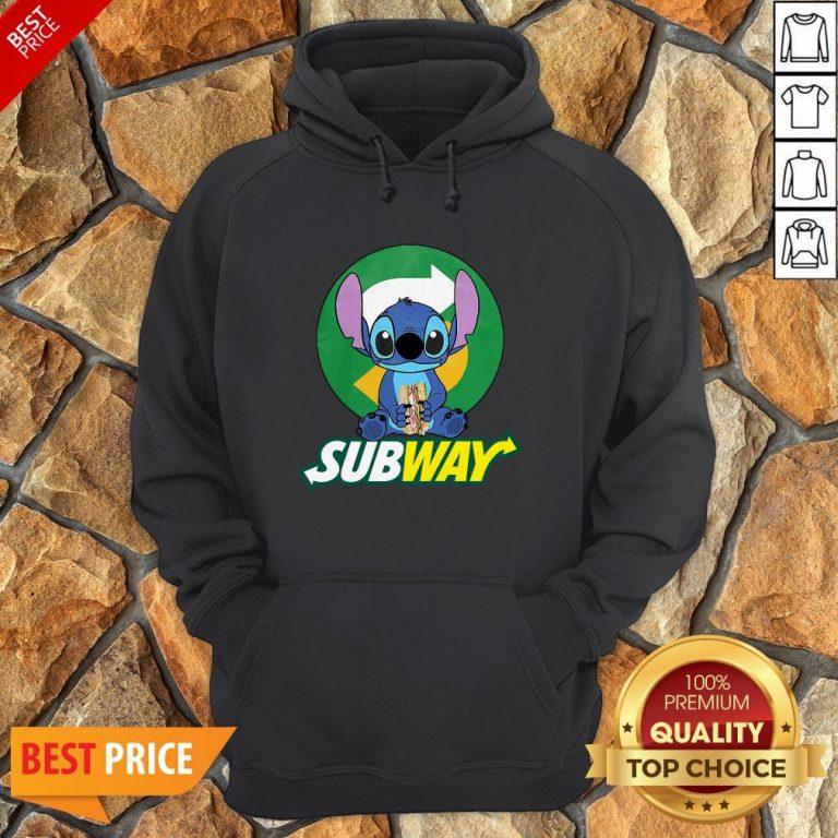 Nice Stitch Hug Subway Hoodie