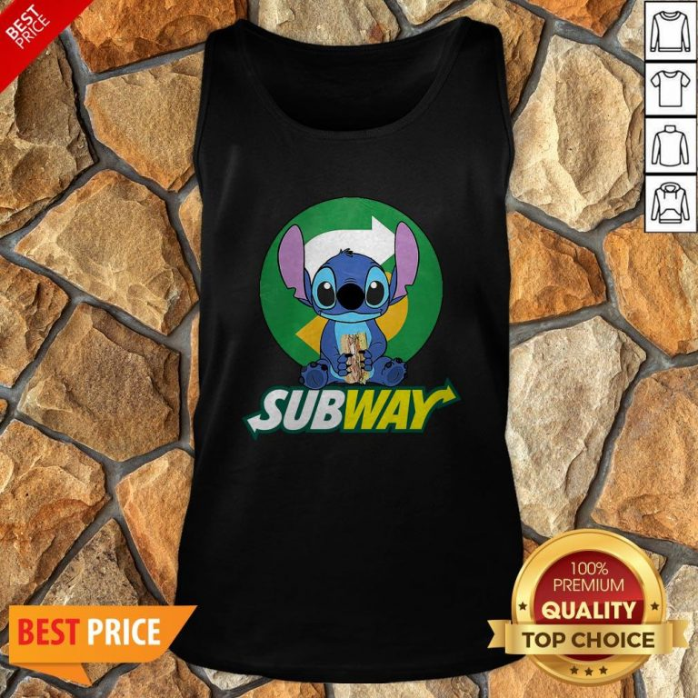 Nice Stitch Hug Subway Tank Top