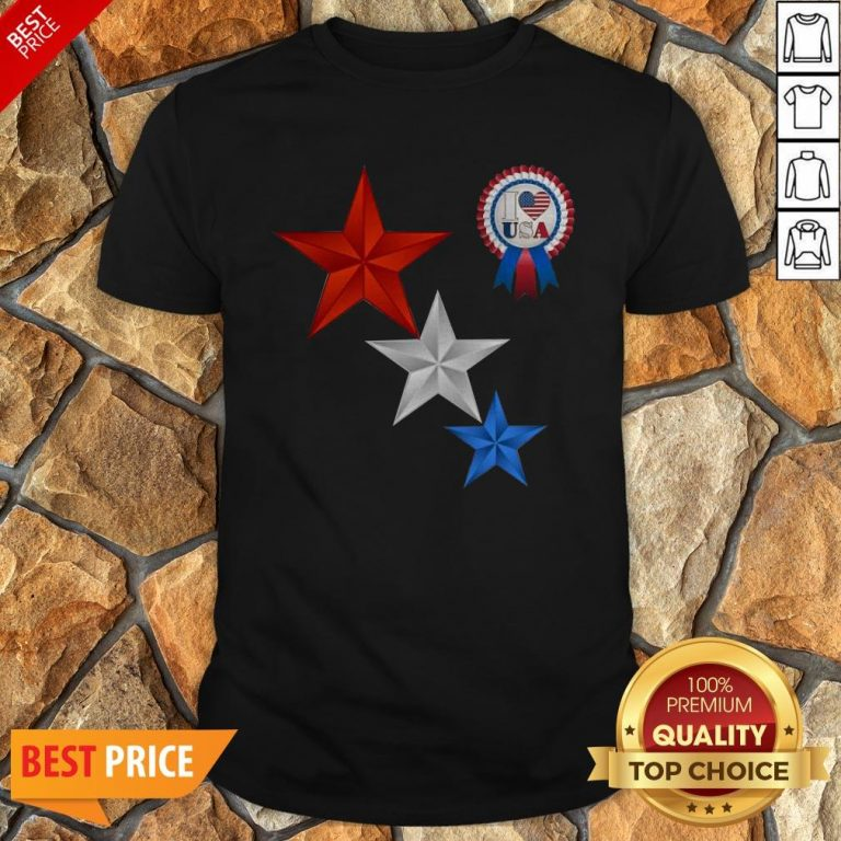 Official 4th Of July I Love USA T-Shirt