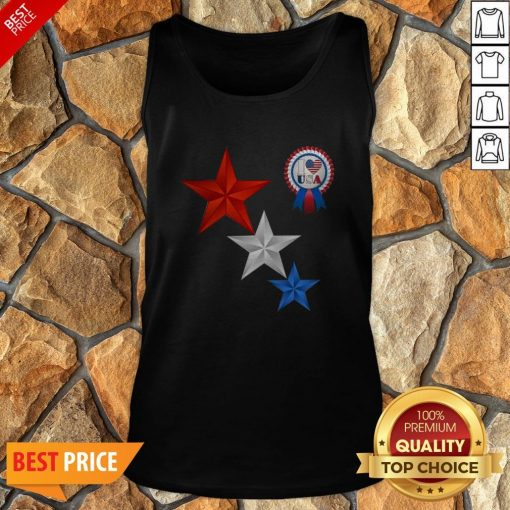 Official 4th Of July I Love USA Tank Top