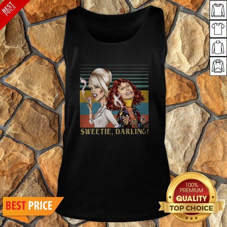 Patsy And Edina Sweetie Darling Vintage Tank Top