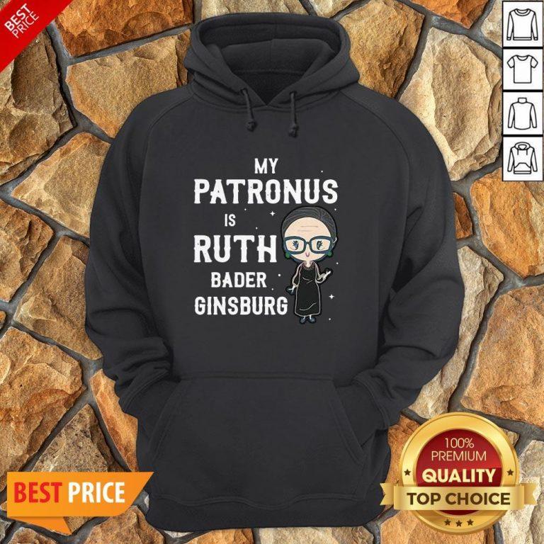 RBG My Patronus Is Ruth Bader Ginsburg Hoodie