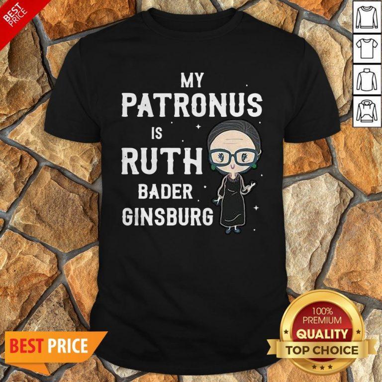 RBG My Patronus Is Ruth Bader Ginsburg Shirt
