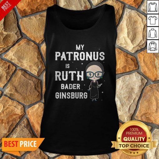RBG My Patronus Is Ruth Bader Ginsburg Tank Top
