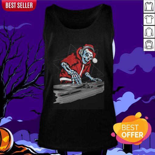 This Halloween Skeleton Party Time Dia De Muertos Day Dead Tank Top