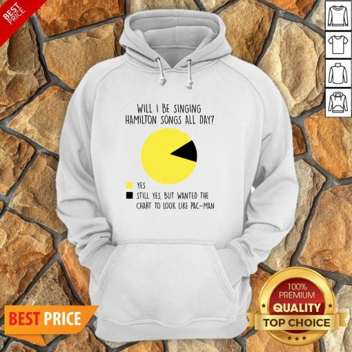 Will I Be Singing Hamilton Songs All Day Hoodie