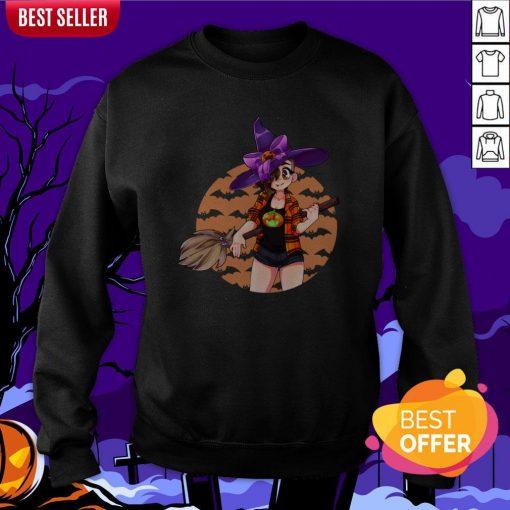 Cassie Witch Happy Halloween 2020 Sweatshirt