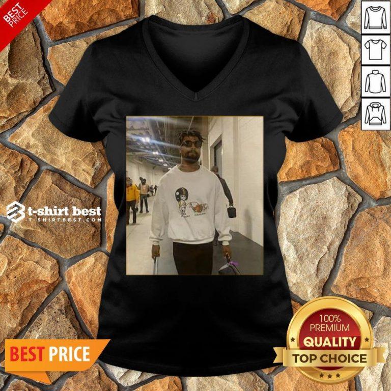 Funny Cs Pic Tee V-neck- Design By T-shirtbest.com