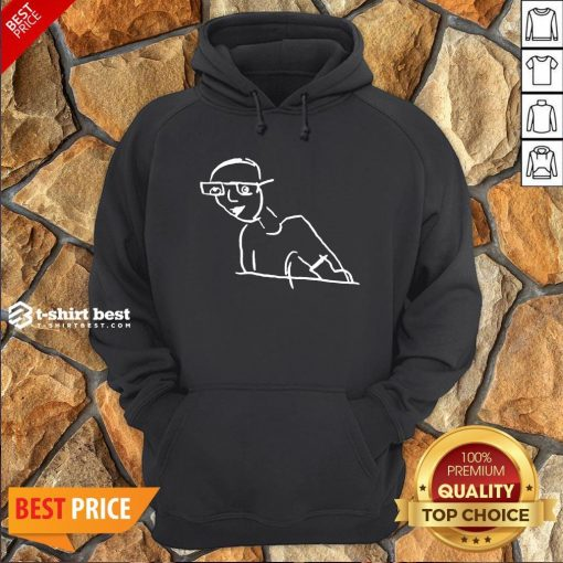 Funny Kirk Minihane Drawing Hoodie- Design By T-shirtbest.com