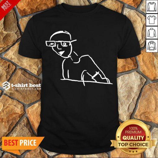 Funny Kirk Minihane Drawing Shirt- Design By T-shirtbest.com