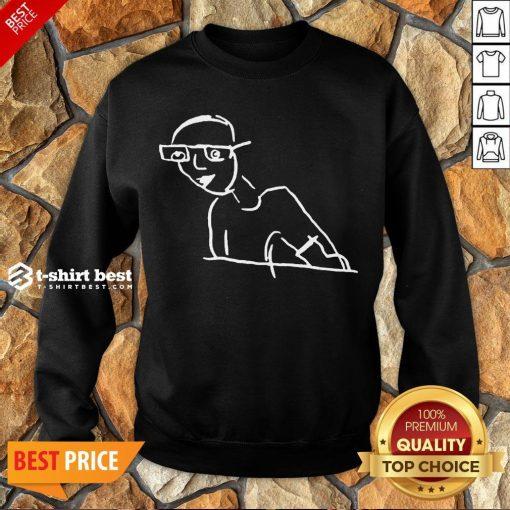 Funny Kirk Minihane Drawing Sweatshirt- Design By T-shirtbest.com