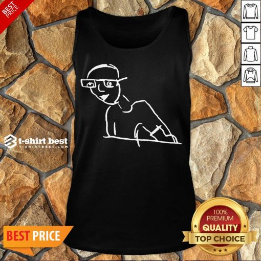 Funny Kirk Minihane Drawing Tank Top- Design By T-shirtbest.com