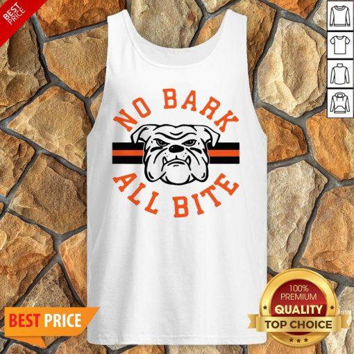 Funny No Bark All Bite Tank Top