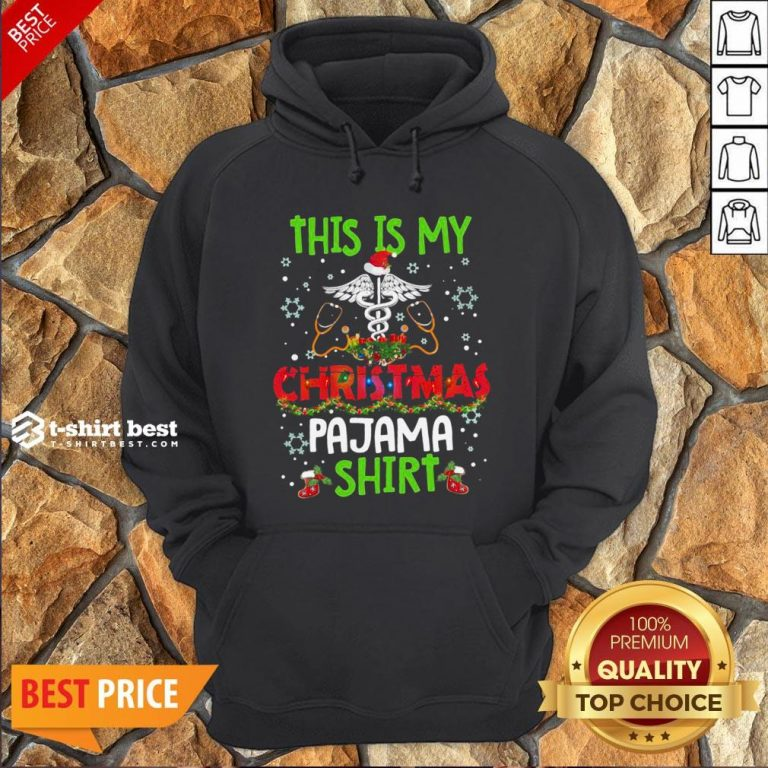 Happy This Is My Christmas Pajama Hoodie- Design By T-shirtbest.com