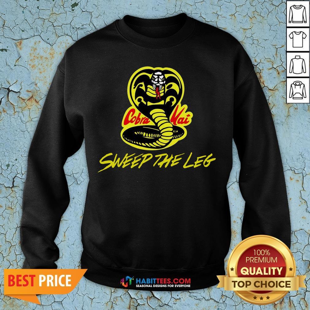 Hot Sweep The Leg Cobra Kai Karate Kid 80s Sweatshirt- Design By T-shirtbest.com