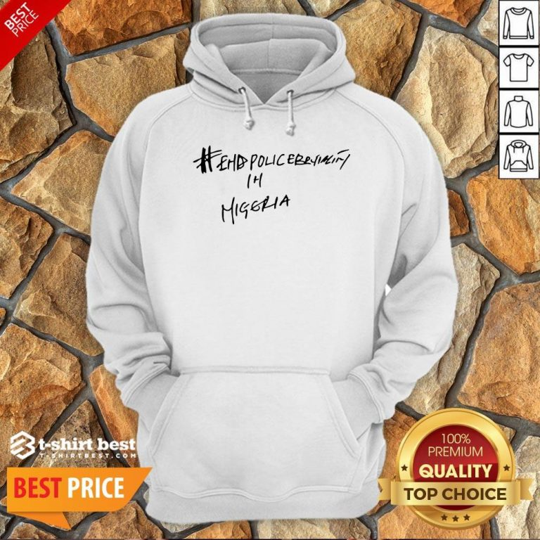 Hot Victor Osimhen Napoli End Police Brutality Hoodie- Design By T-shirtbest.com