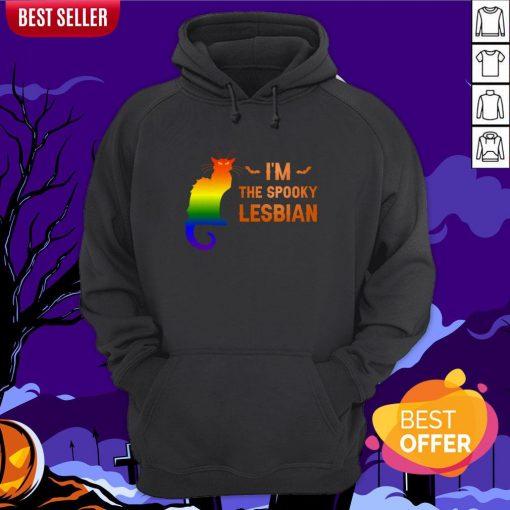 I'm The Spooky Lesbian LGBT Halloween Hoodie