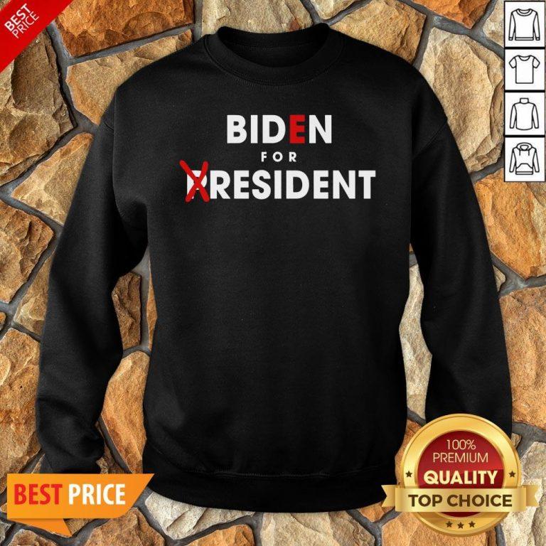 Nice Anti Joe Biden For President Sweatshirt