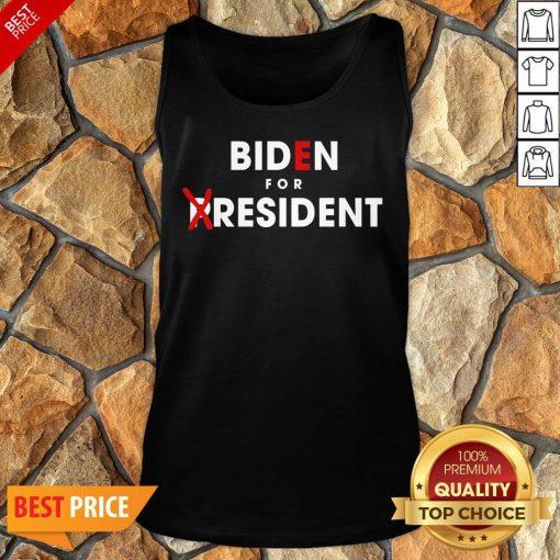 Nice Anti Joe Biden For President Tank Top