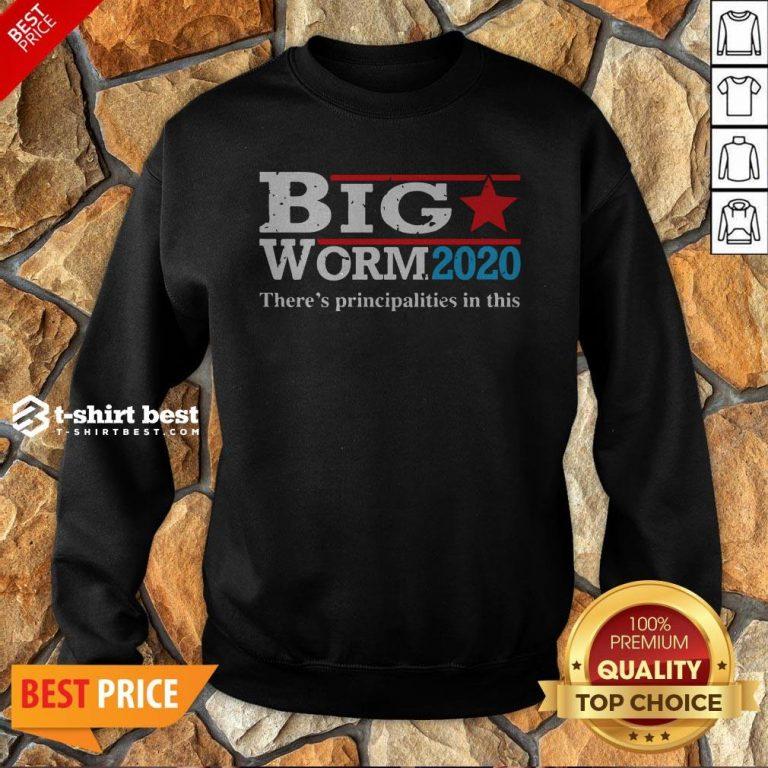 Nice Big Worm 2020 Sweatshirt