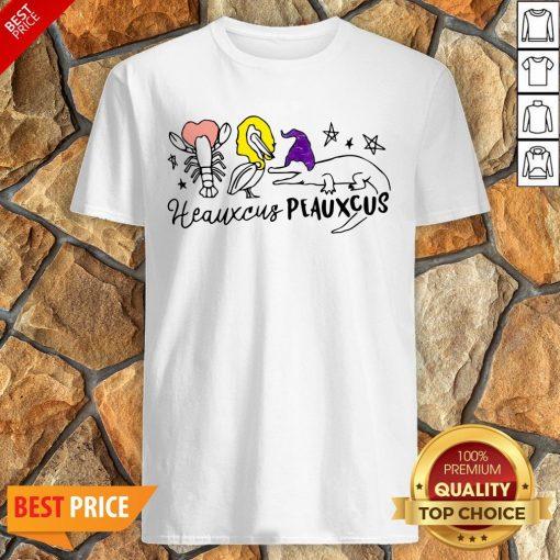 Nice Hocus Pocus Heauxcus Peauxcus Shirt