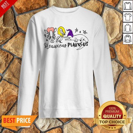 Nice Hocus Pocus Heauxcus Peauxcus Sweatshirt