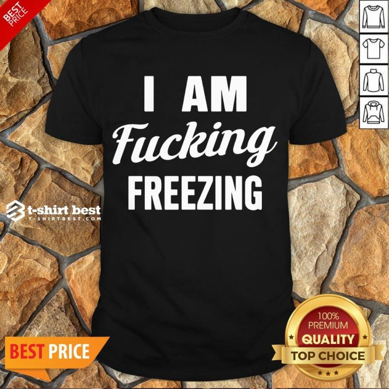 Nice I Am Fucking Freezing Shirt- Design By T-shirtbest.com