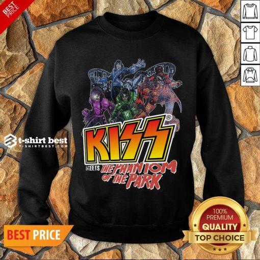 -Nice Kiss Meets The Phantom Of The Park Sweatshirt Design By T-shirtbest.com