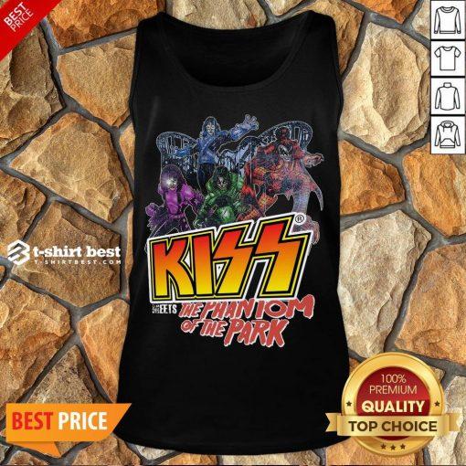 Nice Kiss Meets The Phantom Of The Park Tank Top- Design By T-shirtbest.com