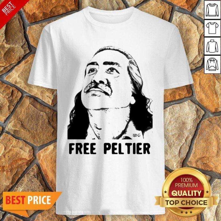 Nice Official Free Leonard Peltier Shirt
