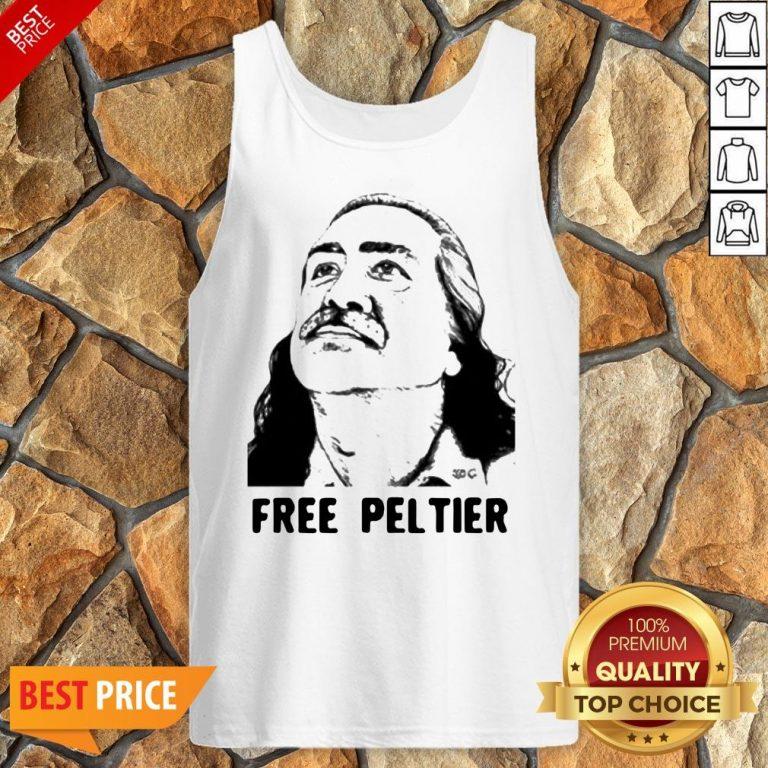 Nice Official Free Leonard Peltier Tank Top