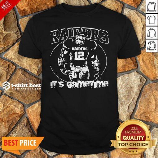 Nice Oklahoma Raiders It's Gametime Shirt