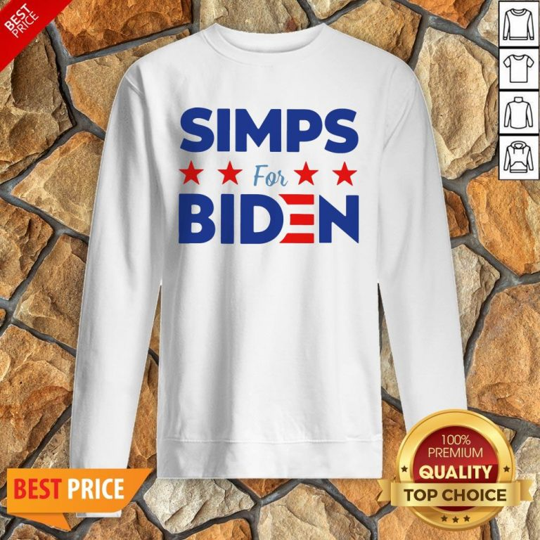 Nice Simps For Biden Unisex Sweatshirt