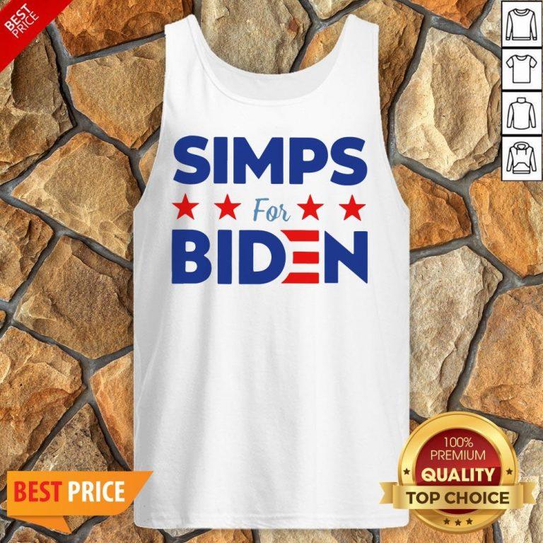 Nice Simps For Biden Unisex Tank Top
