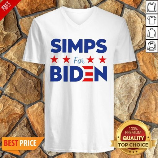 Nice Simps For Biden Unisex V-neck