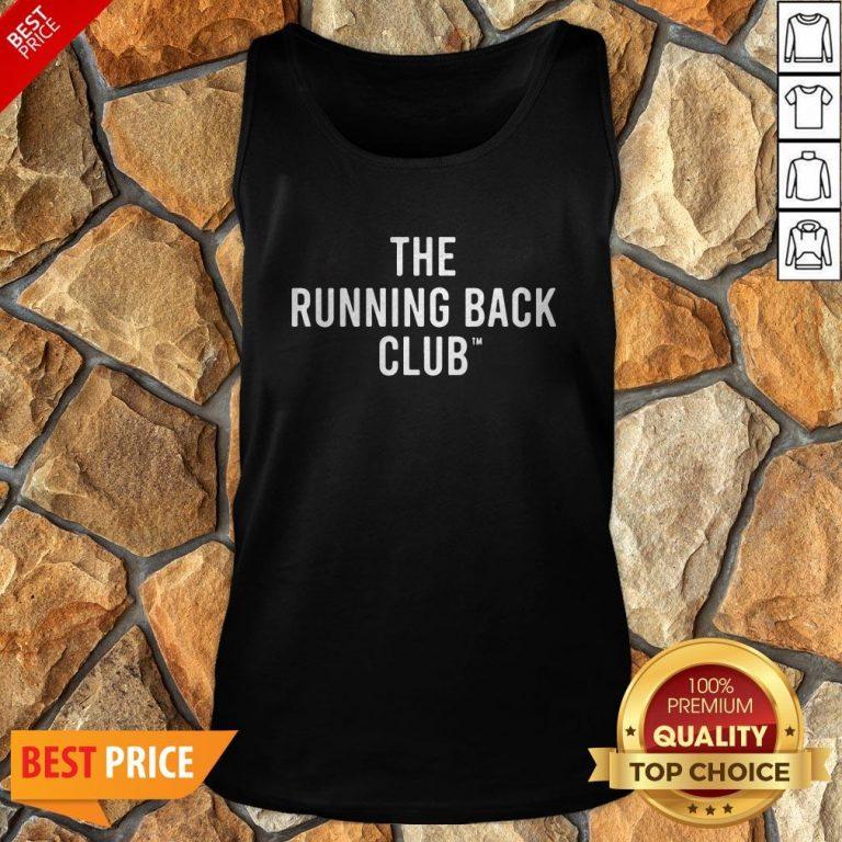Nice The Running Back Club Tank Top