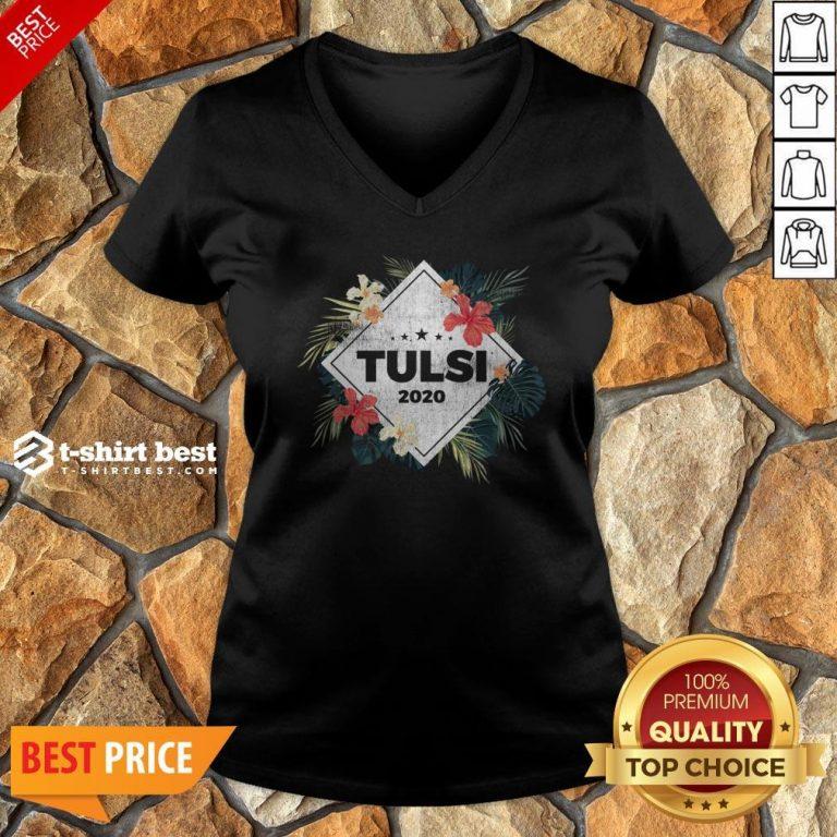 Nice Tulsi Gabbard 2020 V-neck