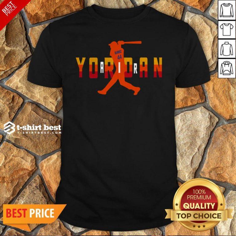 Official Alvarez Yordan Air Shirt
