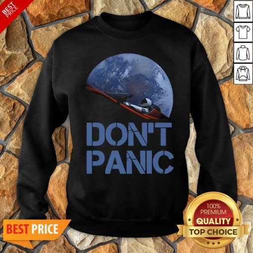 Official Don't Panic Starman Essential Sweatshirt