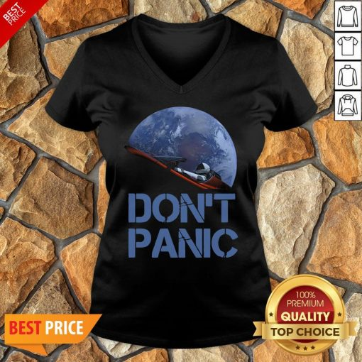 Official Don't Panic Starman Essential Hoodie