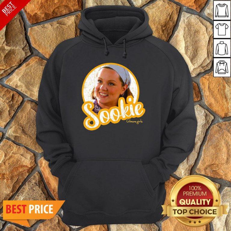 Official Gilmore Girls Sookie Circle Portrait Hoodie