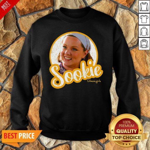 Official Gilmore Girls Sookie Circle Portrait Sweatshirt