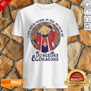 Official I Am Your Guide In The Realm Of Dungeons Dragons Shirt