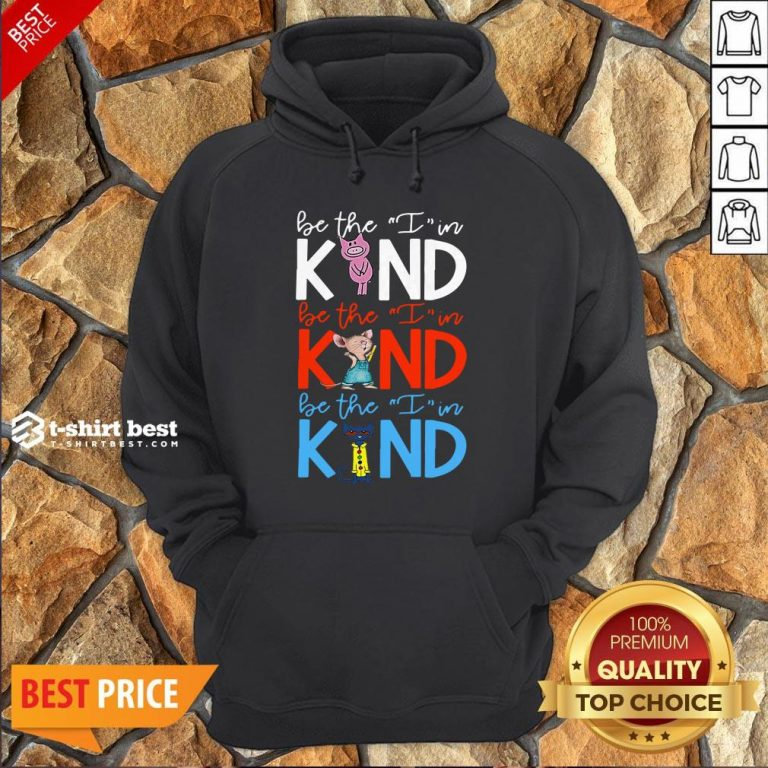 Teach Be The I In Kind Pig Mouse Cat Hoodie
