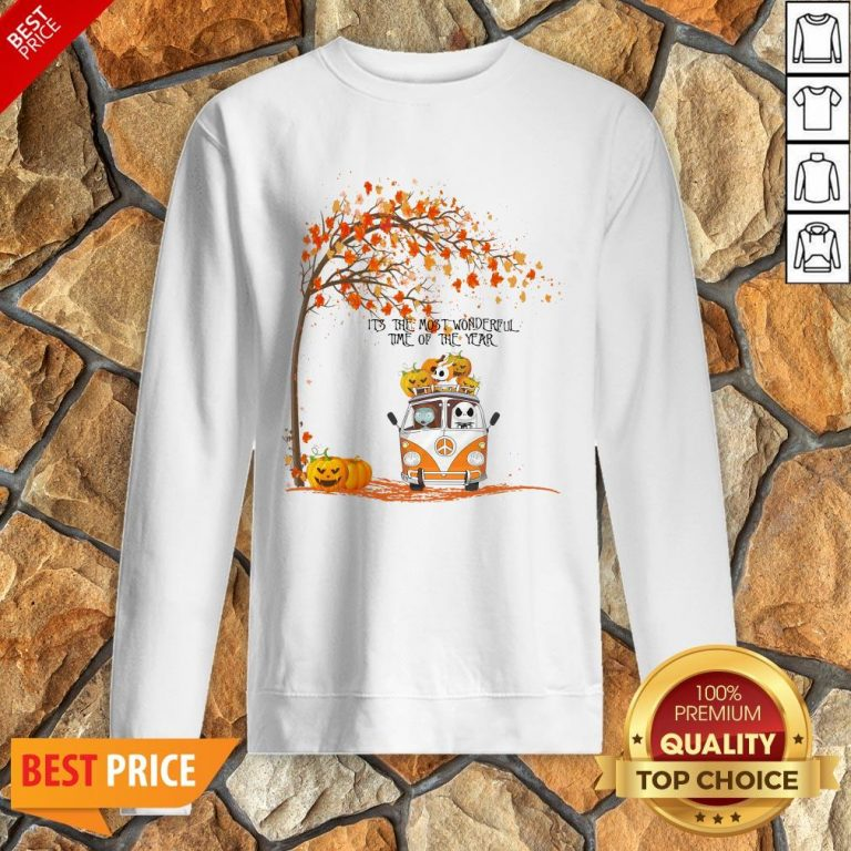 The Nightmare Before Christmas It's The Most Wonderful Time Of The Year Sweatshirt