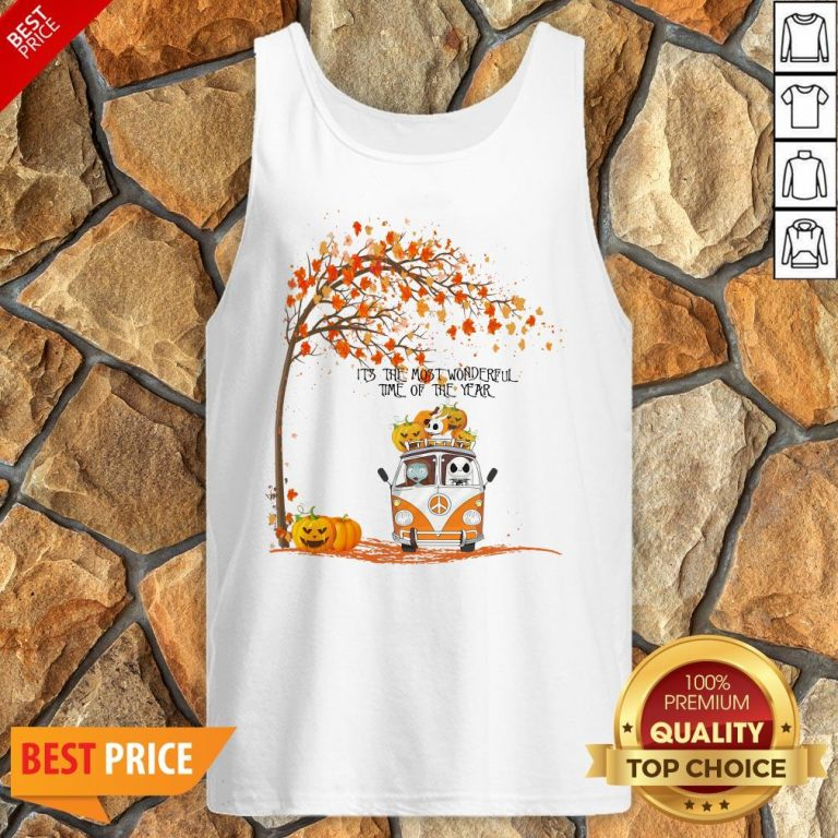 The Nightmare Before Christmas It's The Most Wonderful Time Of The Year Tank Top
