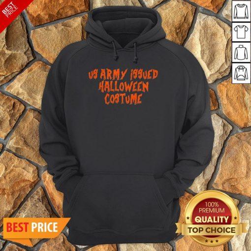 Us Army Issue Halloween Costume Hoodie