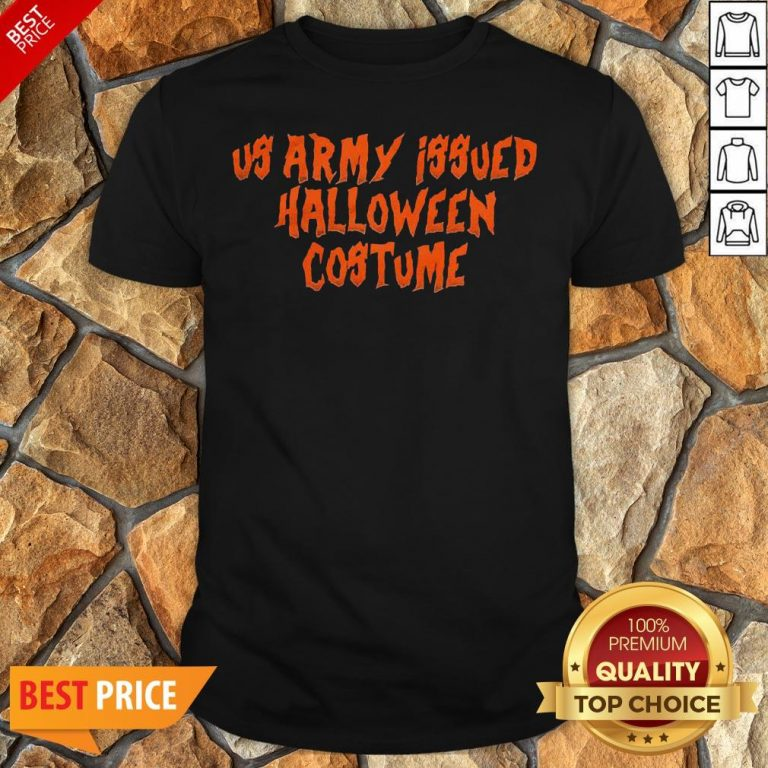 Us Army Issue Halloween Costume Shirt