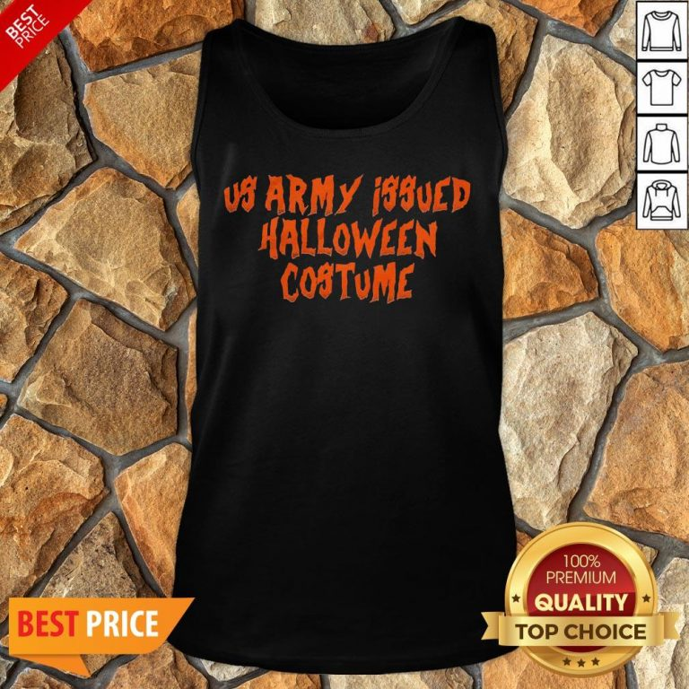 Us Army Issue Halloween Costume Tank Top