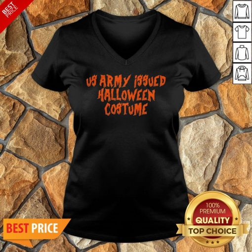 Us Army Issue Halloween Costume V-neck